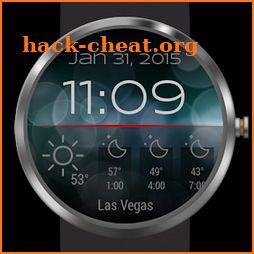 Weather for Bokeh Watch Face icon
