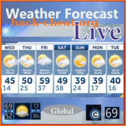 Weather Forecast Live - Global icon