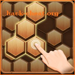 Wood Block Hexagon icon
