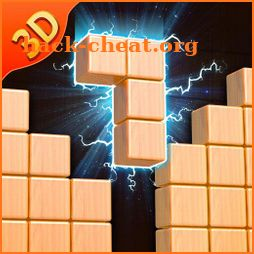 Wooden Block Crush- 3D Wood Puzzle icon