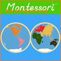 World Continents & Oceans - Montessori Geography icon