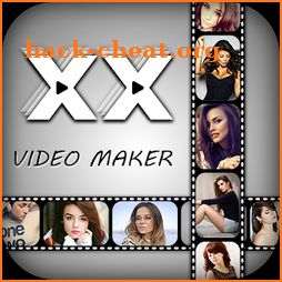XX Video Maker 2018 - XX Movie Maker with Music icon