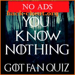 You Know Nothing - Game of Thrones Quiz (No Ads) icon