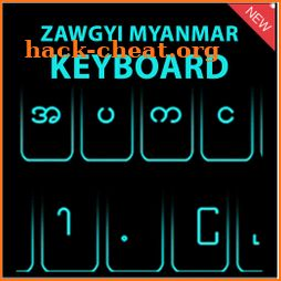 Zawgyi Myanmar keyboard 2021 icon
