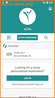 ACPA screenshot