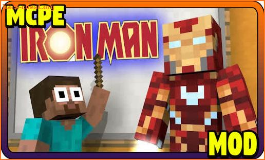 addon iron man mcpe  minecraft mod hacks tips hints and