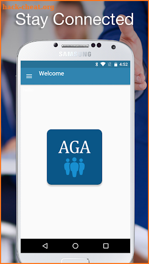 AGA Meetings screenshot