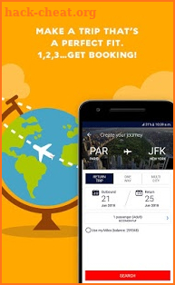 Air France - Airline tickets screenshot