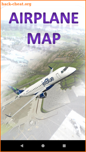 Airplane map screenshot