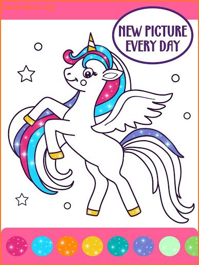 Animated Glitter Coloring Book - Unicorn Hacks, Tips ...