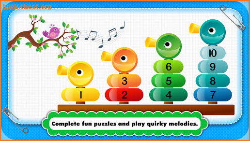 Baby Piano games for 2+ year olds Toddler Kids screenshot