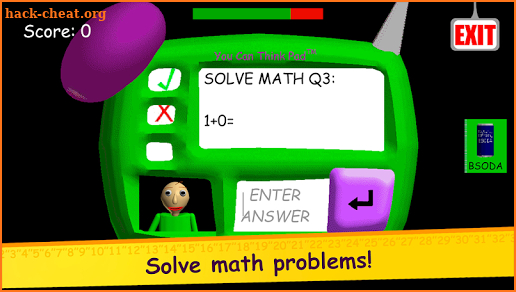 Baldi's Basics in Education and Learning the Rules screenshot