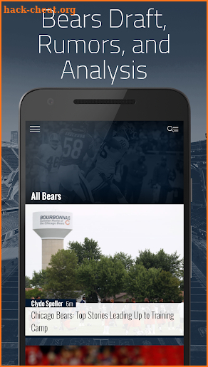 Bear Goggles On: News for Chicago Bears Fans screenshot