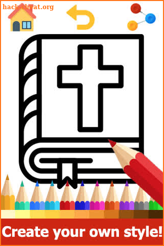 Bible Coloring Pages - Bible Coloring Book screenshot