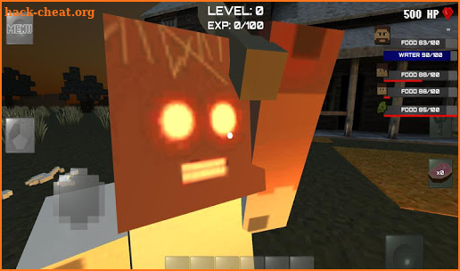 Block Granny Horror screenshot