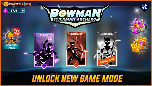 Bowman: Stickman Archero screenshot