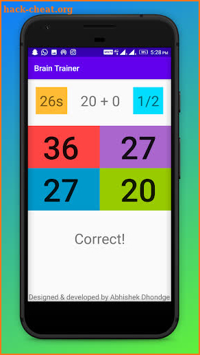 Brain Trainer screenshot