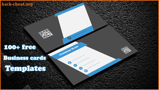 Business Card Maker Visiting Card Maker Photo Logo screenshot