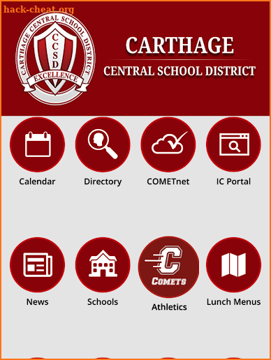 Carthage Central School District screenshot