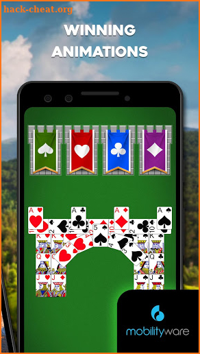 Castle Solitaire: Card Game screenshot