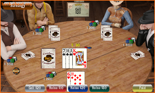 CCHoldem - Cowboy Cardsharks Hold'em Games screenshot