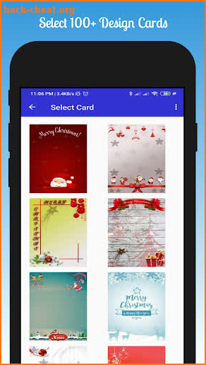 Christmas Greeting Card Maker screenshot