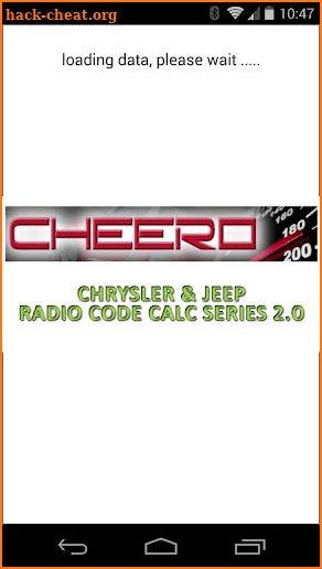 CHRYSLER & JEEP RADIO CODE CALC UCONNECT MYGIG VP4 Hack