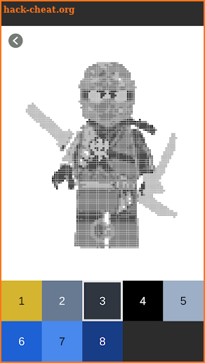 Color By Number Lego Ninjago Pixel Art Hack Cheats And