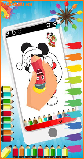 Coloring Mickey Cartoon Book Mouse Game Hack Cheats and ...
