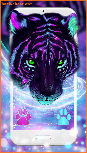 Cool Neon Tiger 3D Live Lock Screen Wallpapers Hack Cheats and Tips | hack-cheat.org