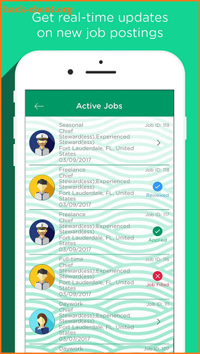 Cotton Crew JOBS - Yacht Jobs screenshot