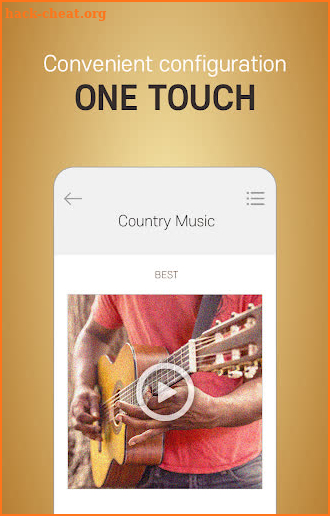 COUNTRY MUSIC  Collection of Popular Country Music screenshot