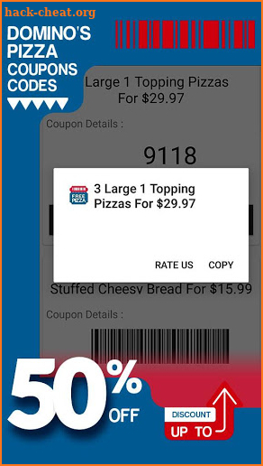 Coupons for Domino's Pizza 🍕 Deals & Discounts screenshot