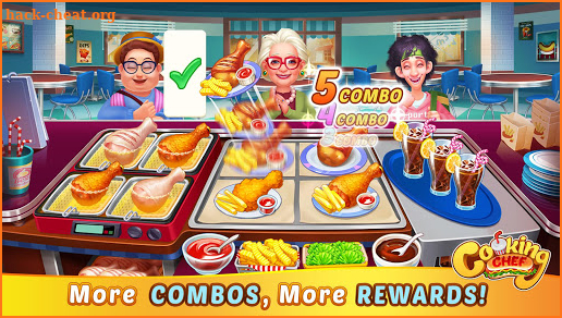 Crazy Chef: Fast Cooking Restaurant Game screenshot