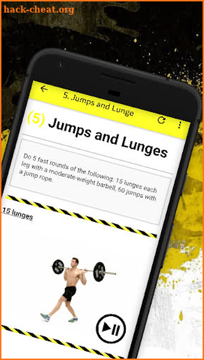 Capture d'écran CrossFit WODs For Beginners