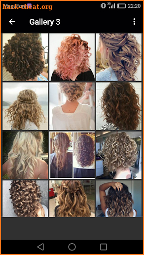 Curly Hairstyles screenshot