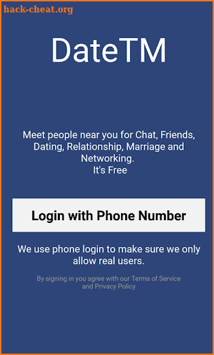 DateTM - Free Chat Dating Relationship & Marriage screenshot