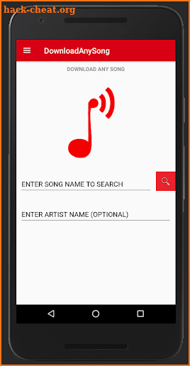 DownloadAnySong screenshot