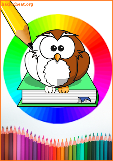 Draw & Coloring magic panda animal-color by number screenshot