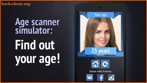 Face scanner: What age screenshot