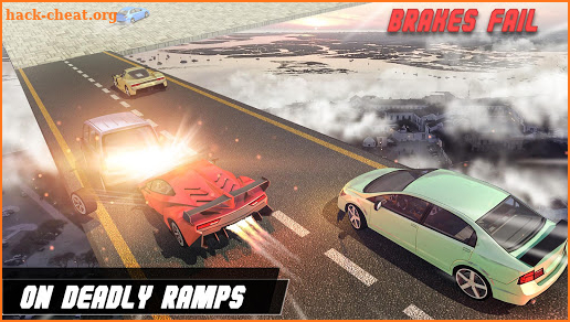 Faily Brakes 2019: Car Stunt Crazy Driver 3D screenshot
