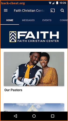 Faith Christian Center Georgia screenshot