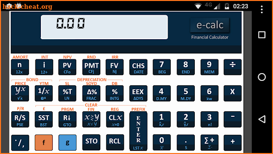 Financial Calculator screenshot