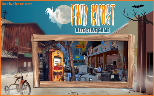 Find Ghost Detective Game screenshot