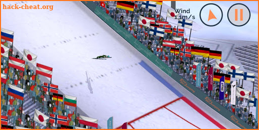 Fine Ski Jumping screenshot