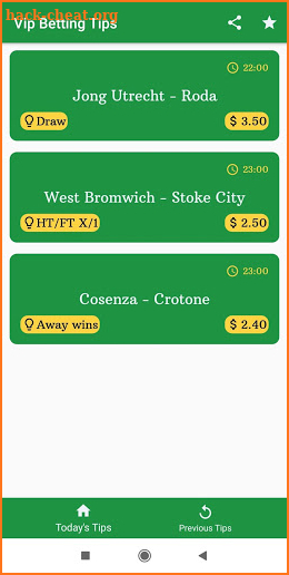 Football Vip Betting Tips screenshot