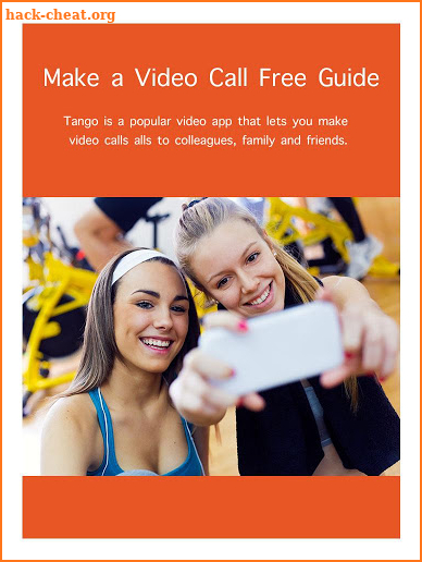 Free Live Video Broadcast for Tango - Tips Hack Cheats and Tips