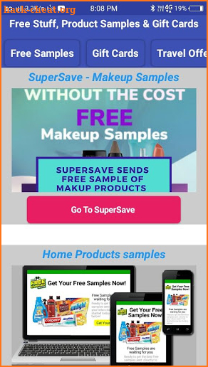 Free Stuff, Product Samples & Gift Cards Hack Cheats and