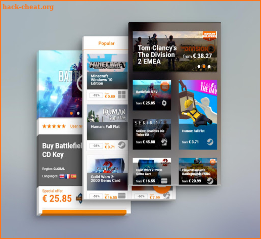 Gamivo - Cheap Game CD Keys screenshot