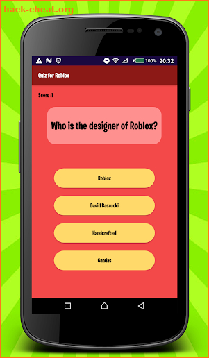 Get Free Robux Quiz screenshot